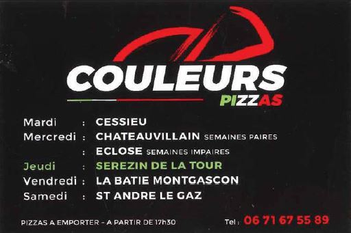 Couleur pizza