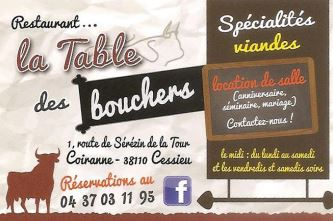table bouchers
