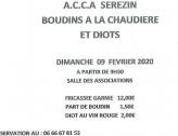 ACCA - Boudins à la chaudière et diots