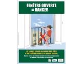 Campagne de prévention des défenestrations accidentelles d'enfants